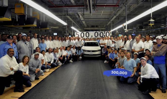 Volkswagen Passat reaches 500.000 units milestone in Chattanooga