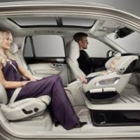 Volvo Excellence Child Seat Concept unveiled