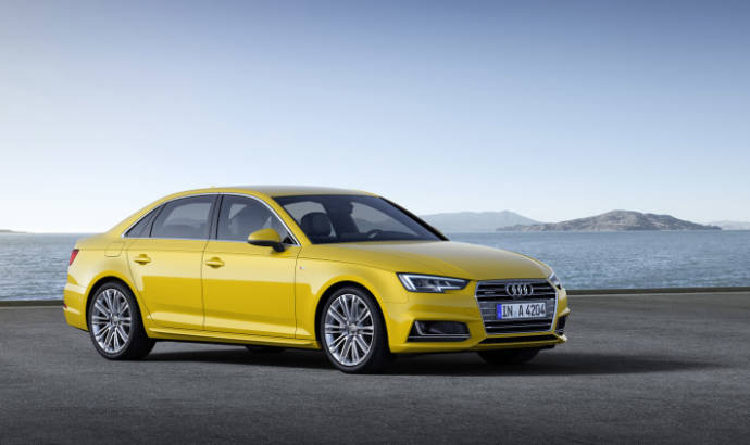 2016 Audi A4 already tested in Germany