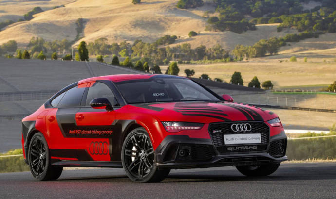 Audi RS7 Piloted Driving updated