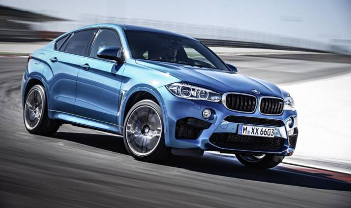 BMW X6 M lapped the Nurburgring in 8 minutes and 20 seconds
