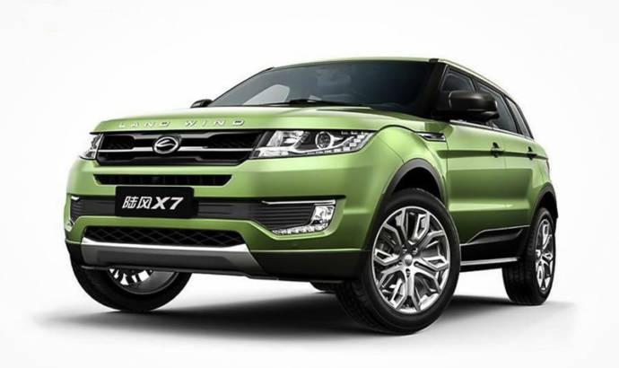 Landwind X7 is a Chinese Range Rover Evoque copycat