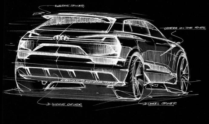 2015 Audi e-tron quattro concept - First official teaser