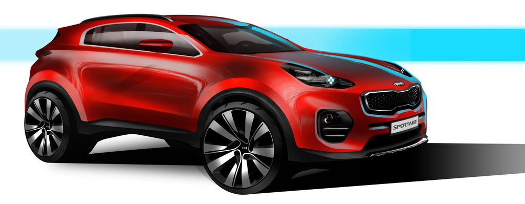 2016 Kia Sportage first images