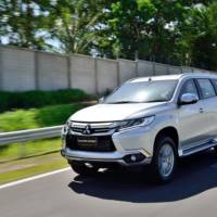 2016 Mitsubishi Pajero Sport - Official pictures and details