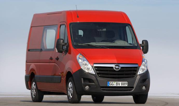 2016 Opel Movano introduced
