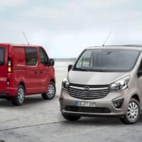 2016 Opel Vivaro receive new diesel engines and updates