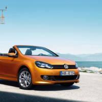 2016 Volkswagen Golf Cabriolet facelifted