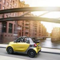 2016 smart fortwo cabrio - Official pictures and details
