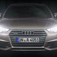 Audi A4 is showing off its new Matrix LED headlights (+Video)