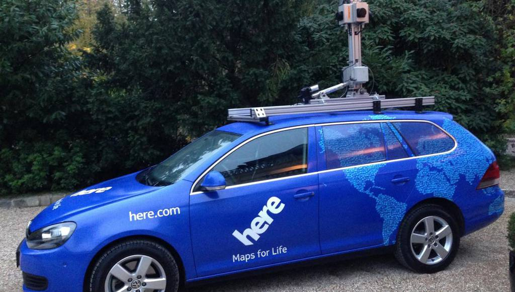 Audi, BMW and Daimler have acquired Nokia HERE Maps