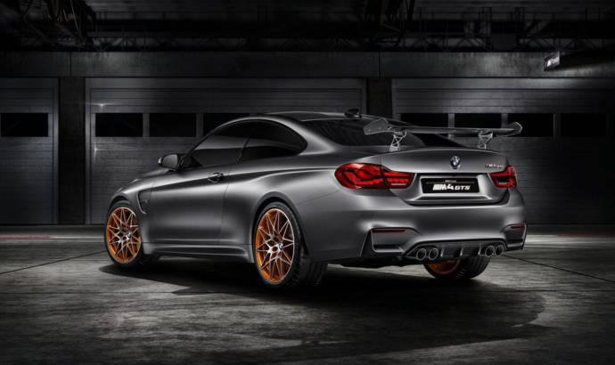 BMW M4 GTS Concept featured in new video
