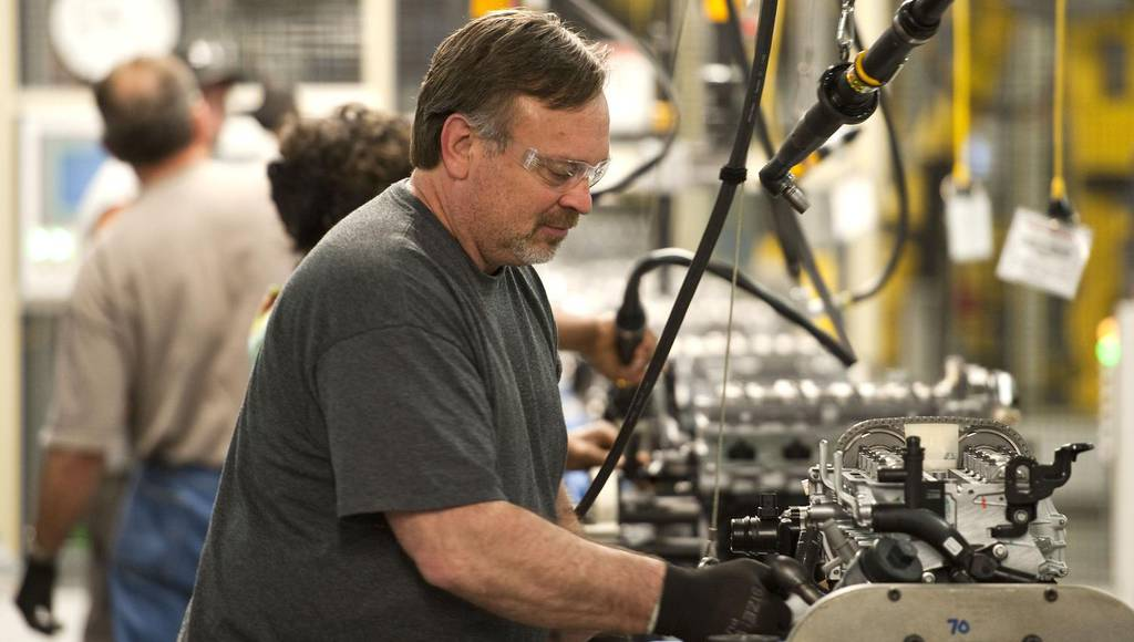 Chevrolet Flint factory produces its one milionth 1.4 liter engine