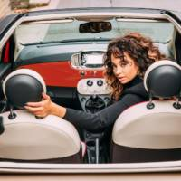 Ella Eyre launches 2016 Fiat 500 in UK