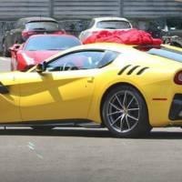 Ferrari F12 Berlinetta Speciale caught undisguised