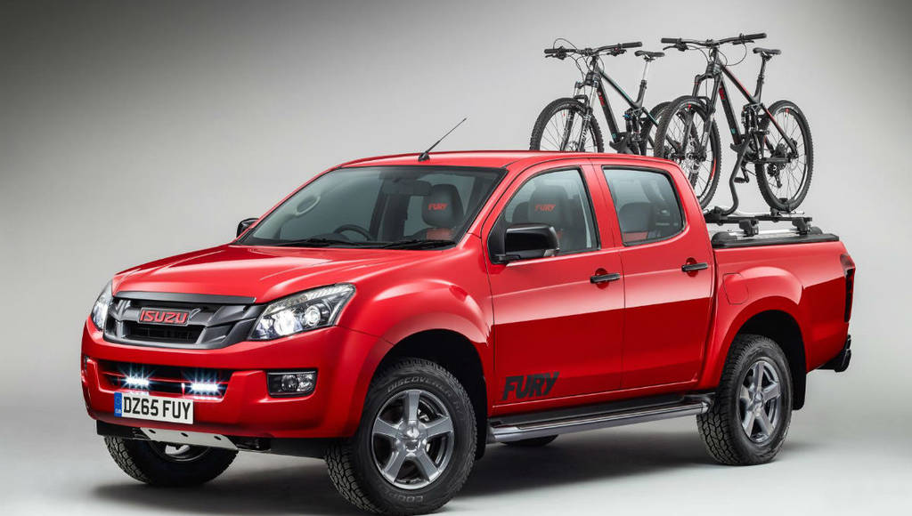 Isuzu D-Max Fury available in UK