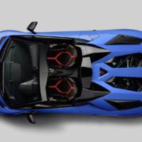 Lamborghini Aventador SV Roadster - Official pictures and details