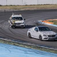 Mercedes-AMG teasers the new C63 Coupe