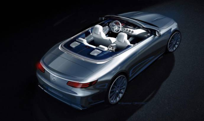 Mercedes-Benz S-Class Cabriolet - The first official render