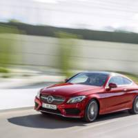 Mercedes C-Class Coupe officially unveiled