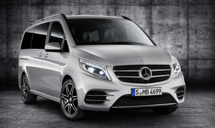 Mercedes V-Class AMG Line available this year