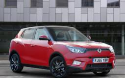 Ssangyong Tivoli offered with a diesel in UK