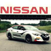This is the 2015 Nissan Maxima Safety car
