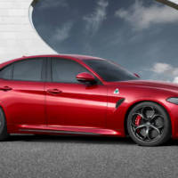 2015 Frankfurt IAA - 2015 Alfa Romeo Giulia Quadrifoglio