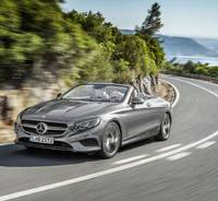 2015 Frankfurt IAA - Mercedes-Benz C-Class Coupe and S-Class Cabrio