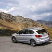2016 BMW 225xe Active Tourer plug-in hybrid - Official pictures and details