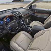 2016 Ford Explorer Platinum: official pictures and details