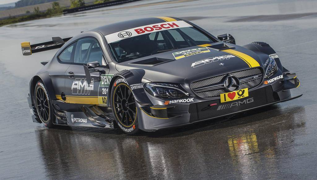 2016 Mercedes-AMG C63 Coupe DTM introduced