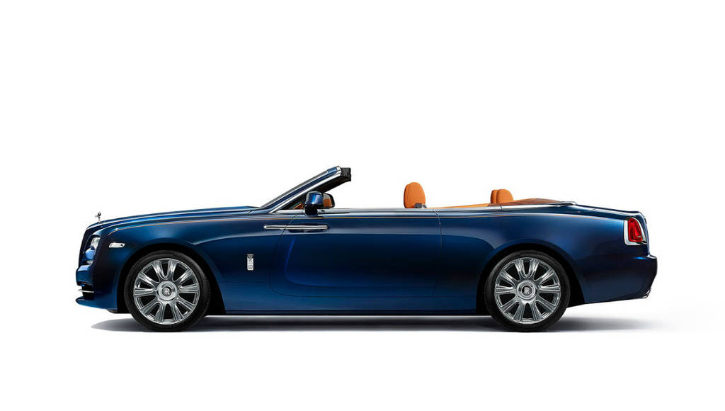 2016 Rolls-Royce Dawn - Official pictures and details