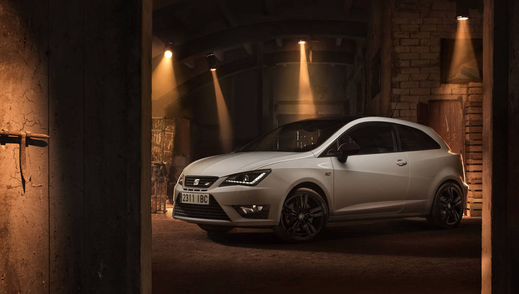 2016 Seat Ibiza Cupra officially unveiled