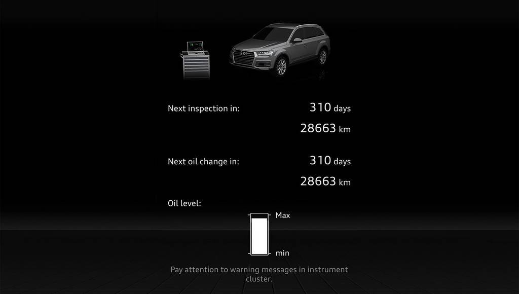 Audi myServices and myCarManager available on the new A4 and Q7