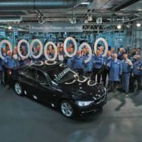 BMW produced the ten millionth 3 Series sedan