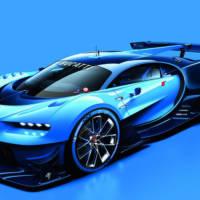 Bugati Vision Gran Turismo Concept unveiled