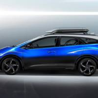 Honda Civic Tourer Active Life Concept created for bike lovers