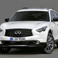 Infiniti QX70 Ultimate Edition announced