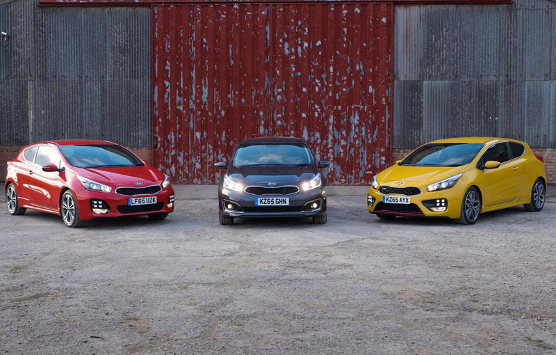 Kia ceed facelift priced in the UK