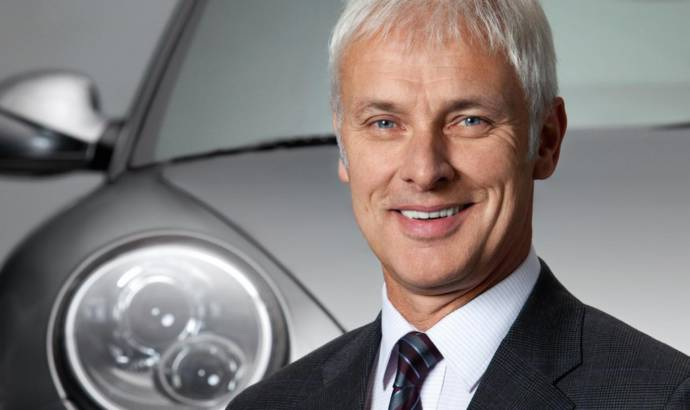 Matthias Muller is expected to be named Volkswagen Group CEO