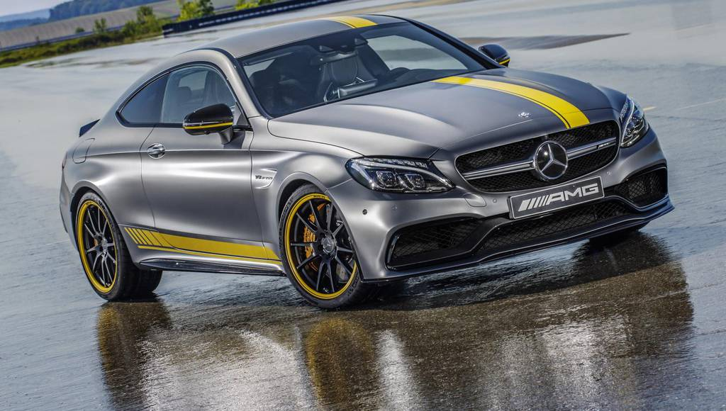 Mercedes-AMG C63 Coupe Edition 1 launched