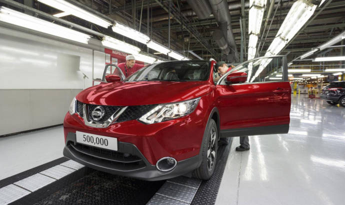 Nissan Qashqai hits 500.000 units mark in just 21 months