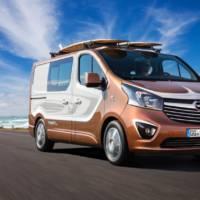 Opel Vivaro Surf Concept unveiled