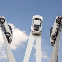 Porsche Inspiration 911 sculpture unveiled in Zuffenhausen
