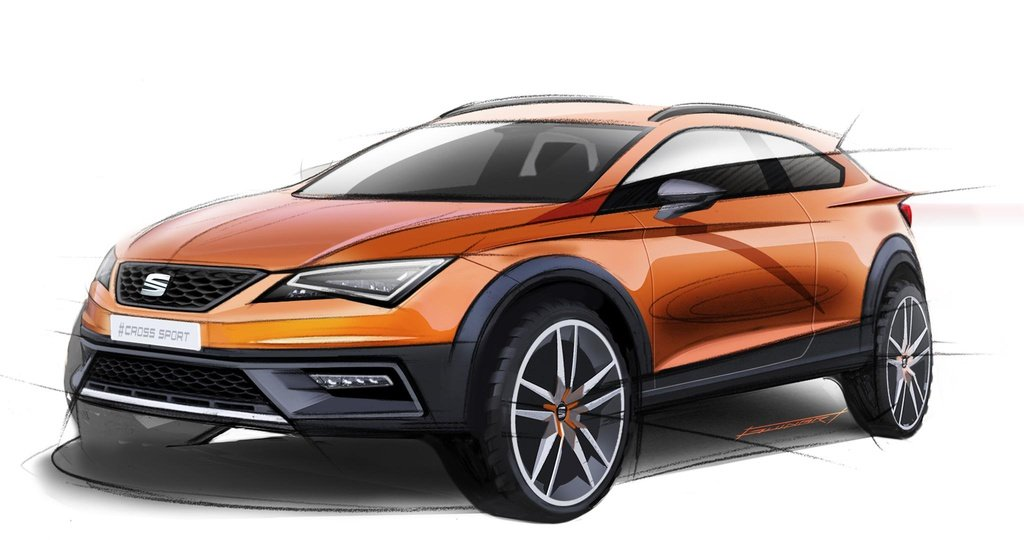 Seat Leon Cross Concept first images appear
