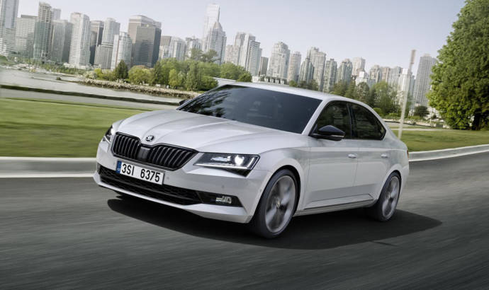 Skoda Superb Sportline announced