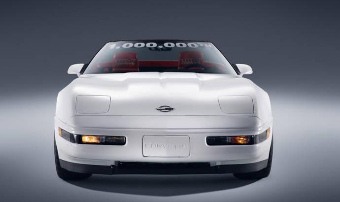 The one millionth Chevrolet Corvette restored