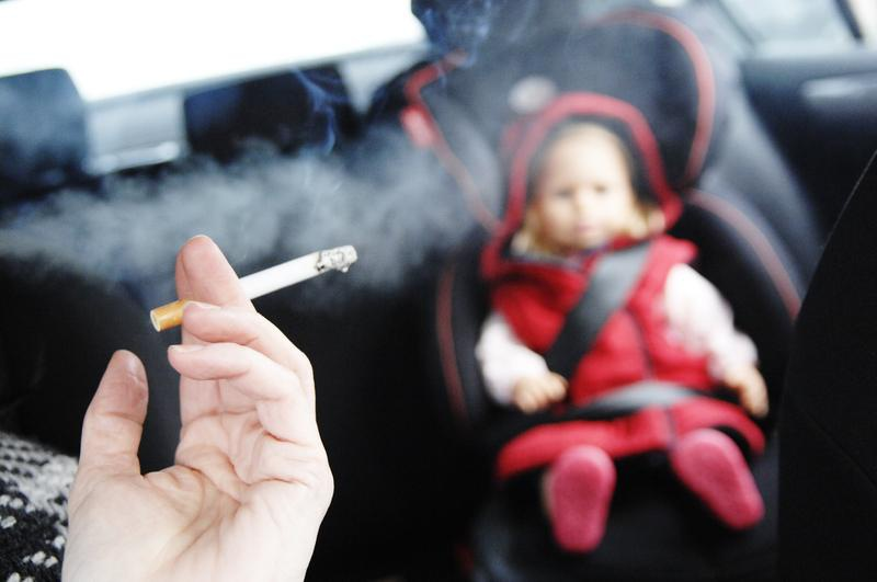 UK - Smoking in cars with children will be banned starting October 1