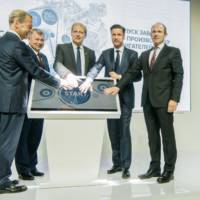Volkswagen opens new engine plant in Kaluga, Russia